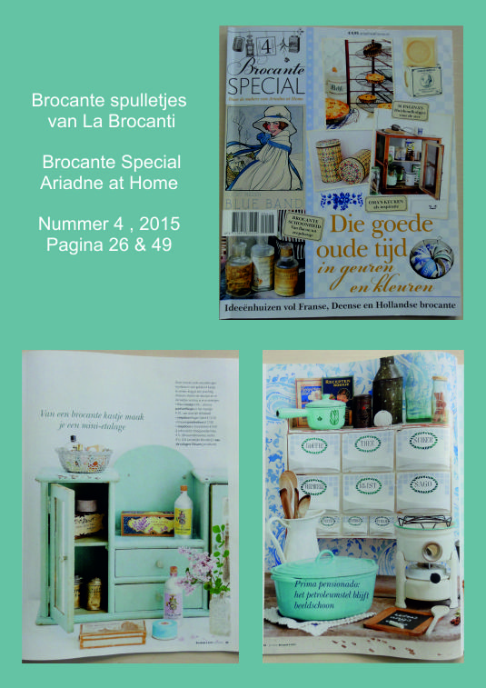 Ariadne at Home Brocante Special 2015