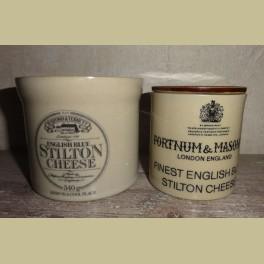 2 Engelse Denby Blue Stilton kaas potjes