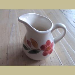 Landelijk Frans melkkannetje met bloemetje