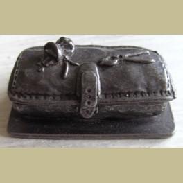 Tinnen koffertje, artsentas 1