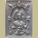 Zwart gietijzeren Frans ornament, De Dietrich Niederbronn les Bains