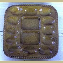 Keramieke retro eierschaal