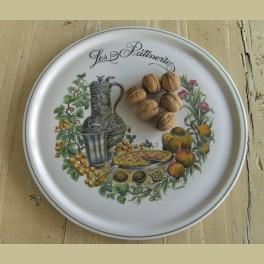 Franse landelijke serveerschaal, Les Patisseries