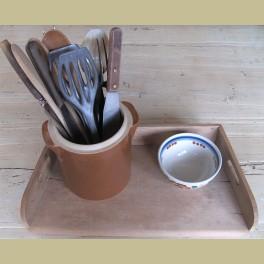 Franse gres pot, lepelpot