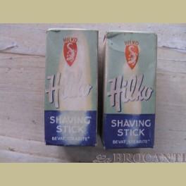 2 x Oude HILKO Zaandam scheer stick / shaving stick