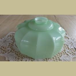 Mint groen glazen lampenkapje