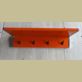 Retro oranje Brabantia keukenrekje / handdoekenrekje