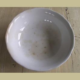 Zeer grote beboterde kom / schaal Societe Ceramique Maestricht