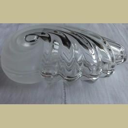 Glazen ( bonbon ) schaaltje, schelp
