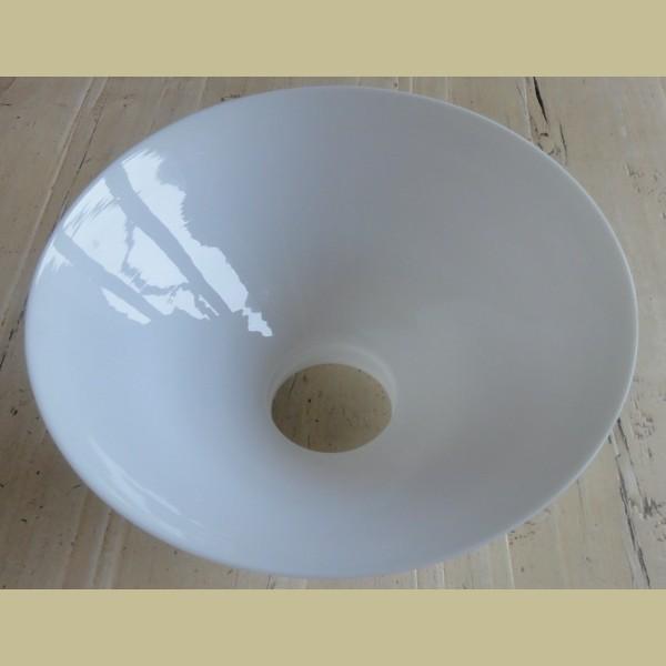 Extreem Grote witte melkglazen lampenkap - La Brocanti MO43