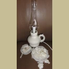 Brocante lampje , olielamp model