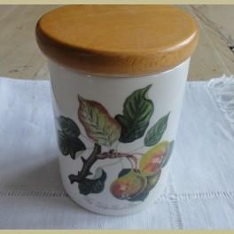 Engels landelijk voorraadpotje met peren, Portmeirion