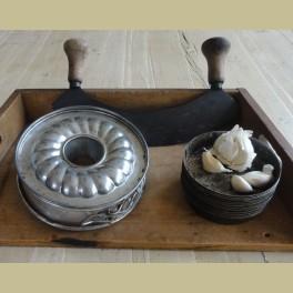 Kleine brocante bakvorm / springvorm