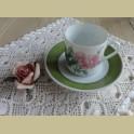 Hutschenreuther P.J. Redouté koffie kop en schotel I