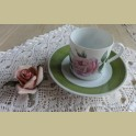 Hutschenreuther P.J. Redouté koffie kop en schotel III