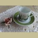 Hutschenreuther P.J. Redouté koffie kop en schotel IV