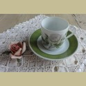 Hutschenreuther P.J. Redouté koffie kop en schotel IX