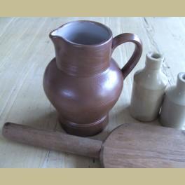Franse bruine gres kan , Gres de Bonny, 1 liter