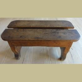 Antiek Frans houten krukje