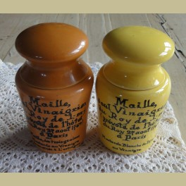 Oude Franse mosterdpotjes, MAILLE