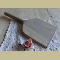 Grote oude Franse brocante houten wasstamper