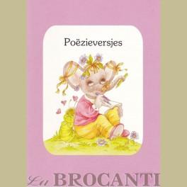 Boekje met Poezieversjes voor in Poezie album
