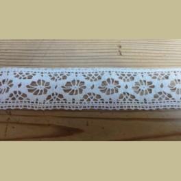 Frans brocante kant, wit , 2,7 cm x 180 cm