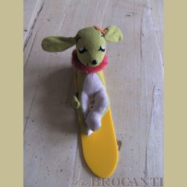 Dream Pets Hawaiian Hound, hond met surfboard knuffel