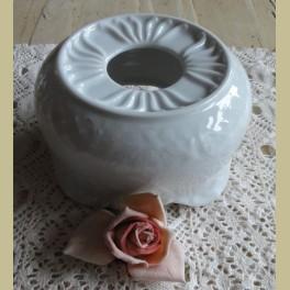 Sierlijk wit porseleinen theelicht, Schumann Arzbero