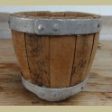 Oude houten kaasmal