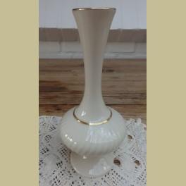 Creme porseleinen slank vaasje , Lenox , U.S.A.