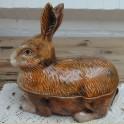 Oude pate vorm konijn ( bruin ), Michel Caugant