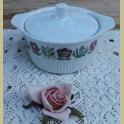 Retro bloemen ovenschaal met deksel, Villeroy & Boch