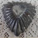Oud Frans brocante bakvormpje, hart vorm