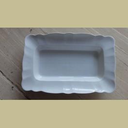 Mooie Franse wit porseleinen Pillivuyt serveerschaal / aspergeschaal