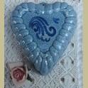 Vintage puddingvorm hart, Blue Band